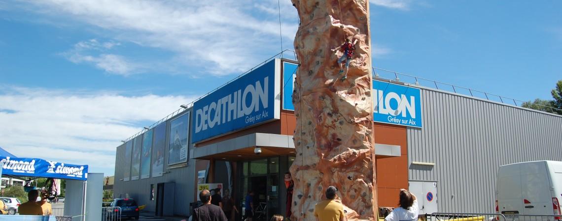 Escalade à Decathlon Grésy-sur-Aix 22 septembre